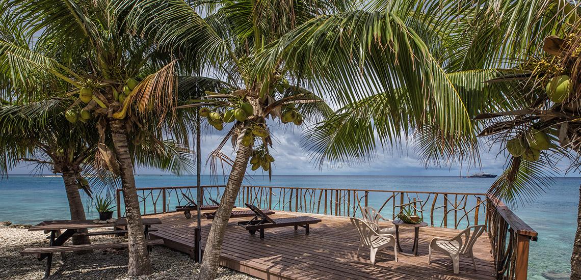 Pension teina marie rangiroa tahiti tourisme - Rangiroa urlaub ...